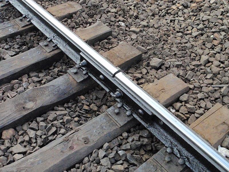 File:Rail track-Ukraine-Lviv railroad.JPG