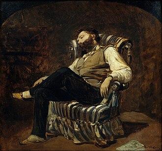 Ramon Martí Alsina - The Siesta (1884),  his most familiar work.