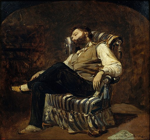 Ramon Martí i Alsina - The Siesta - Google Art Project