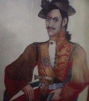 Ranabir Singh Thapa - Portrait of Kaji General Ranabir Singh Thapa