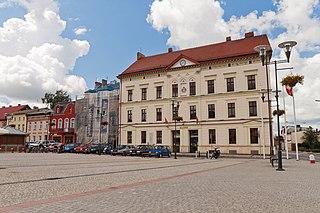 Czarnków Place in Greater Poland Voivodeship, Poland