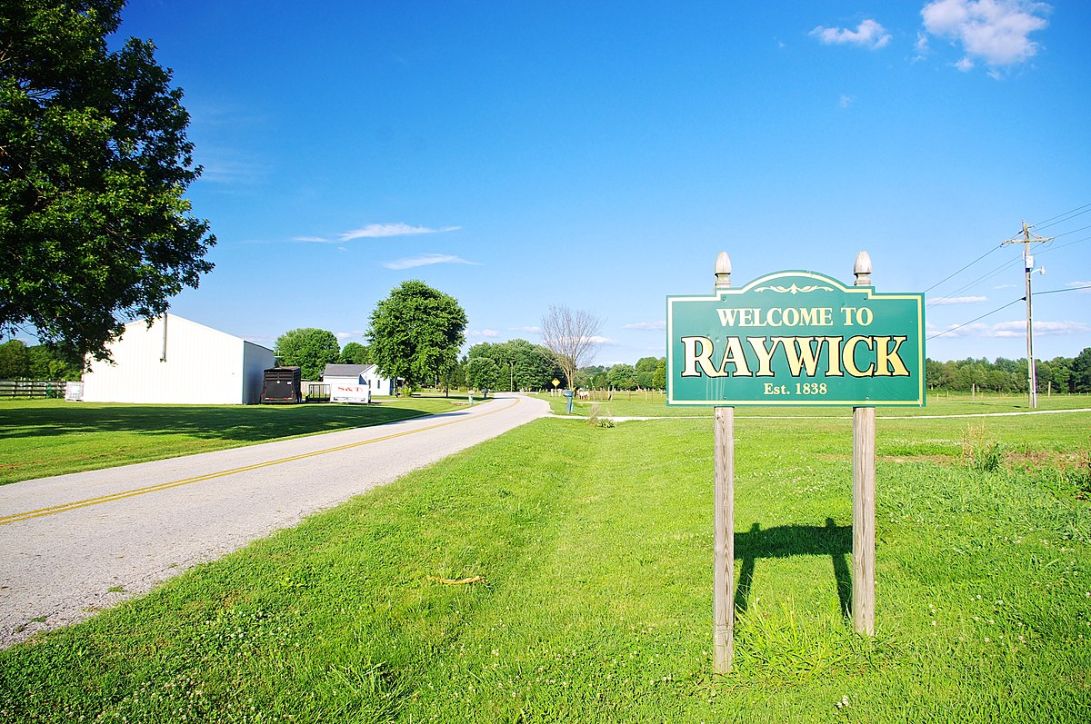 raywick dating Marion county is also a center of kentucky history, found in such places as the  holy cross church, which dates back to 1823, and the loretto motherhouse,.