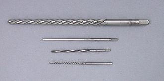 Reamer - Four small tapered pin reamers