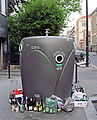Recycling In The 14th Arrondissement, Paris April 2014.jpg