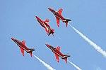 Red Arrows - RIAT 2007 (2476029221).jpg