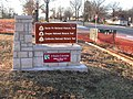 Red Bridge Marker One at 3 Trails Corridor (e6a3098463d64d92b259c11c36413ff1).JPG