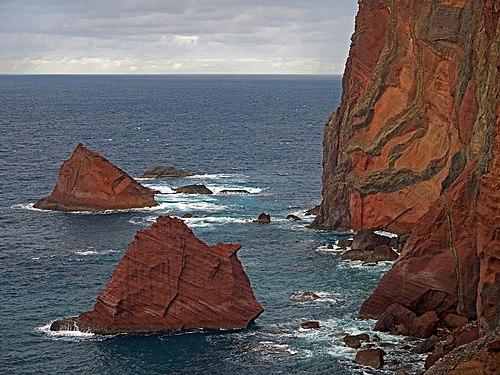 Red Rocks of Ponta de São Lourenço. Madeira, Portugal.jpg