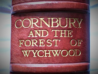 Wychwood - Image: Red leather book spine of Cornbury and the Forest of Wychwood by Vernon J. Watney