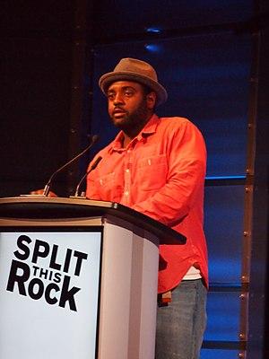 Reginald Dwayne Betts - Reginald Betts at Split this rock, 2016