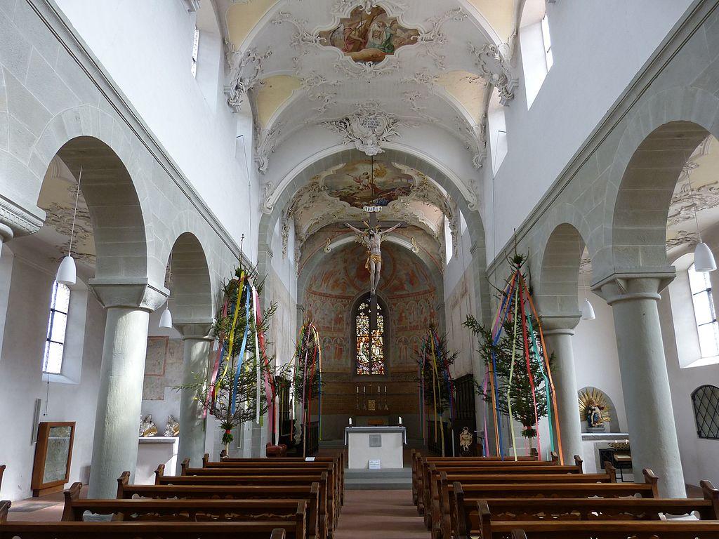 Reichenau St.Peter und Paul - Innenraum 2