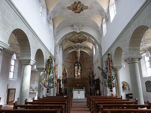 St.Peter und Paul - Innenraum. UNESCO-Weltkulturerbe KLosterinsel Reichenau