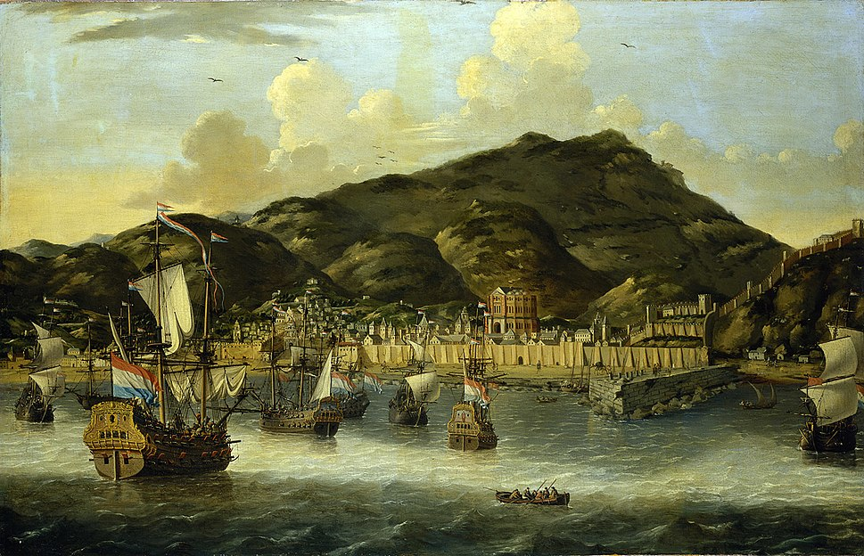 Reinier Nooms - Dutch Ships off Tripoli