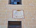 Rellotge de Sol a l'església de Soneja.JPG