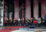 Representative Orchestra of Polish Navy at III Meeting of Fans of the TV series 'M jak miłość' in Gdynia 2009 - 1