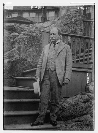 David Jayne Hill - Image: Rev. David Jayne Hill (June 10, 1850 – March 2, 1932) circa 1916