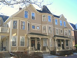 Richard Hapgood House - 382-392 Harvard Street, Cambridge, MA - IMG 4073.JPG
