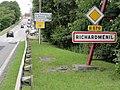 Richardménil (M-et-M) city limit sign.jpg