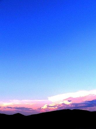 Northern Cape Heritage Resources Authority - Sunset near Rooiberg, Richtersveld World Heritage Site.