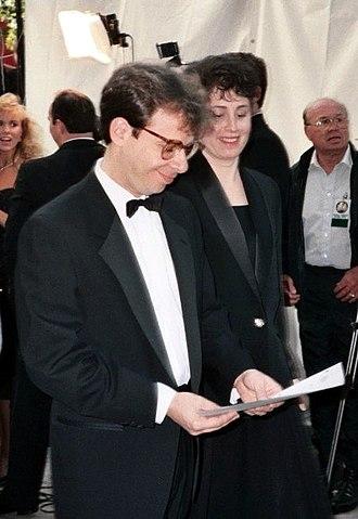 Rick Moranis - Moranis at the 1990 Academy Awards