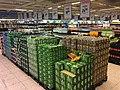 Ringnes Tuborg øl (beer) på paller i butikkinteriør Coop Obs Sandefjord, Norway 2017-10-18.jpg