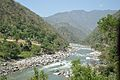 River Beas - Chandigarh-Manali Highway - NH-21 - Mandi 2014-05-09 2149.JPG