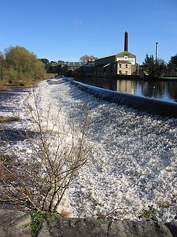 River Wharfe and Weir at Otley - geograph.org.uk - 361180