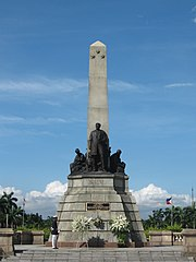 Das Rizal Monument im Rizal Park