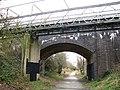 Road bridge and footbridge - geograph.org.uk - 1189117.jpg