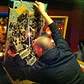 Rob tinkering with the seawitch pinball @-@ (2012-02-13 by j bizzie).jpg