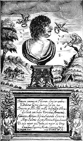 1648 in poetry - Title page of Robert Herrick's, Hesperides