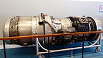 Rolls-Royce Avon RA29 533R Display at Aviation Museum 20130928.jpg