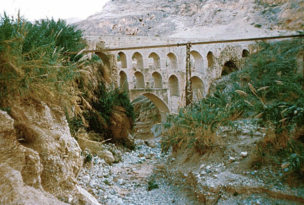 Roman aquaduct near Jericho