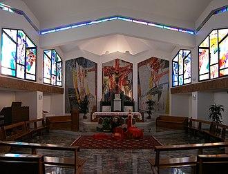 Missionaries of the Precious Blood - Image: Rome, Collegio Preziosissimo Sangue, chapel