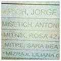 Rosa Mitnik. Baldosa en Buenos Aires.JPG