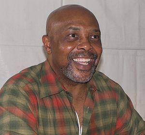 The Robinson family (Sesame Street) - Roscoe Orman has played Gordon since 1974. He is seen here at the 2007 Texas Book Festival in Austin, Texas.