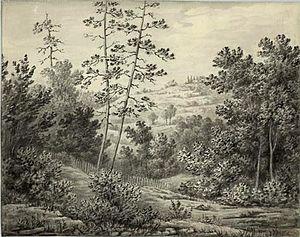 Anne Langton - Rosedale in 1882 by Anne Langton