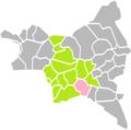 Rosny-sous-Bois (Seine-Saint-Denis) dans son Arrondissement.png