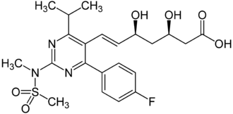 Orphan drug - Rosuvastatin (brand name Crestor) is an example of a drug that received Orphan Drug funding but was later marketed to a large consumer base.