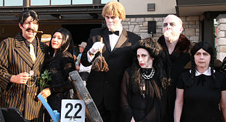 The Addams Family - Addams Family cosplayers