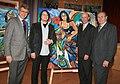 Rotkreuz Generalsekretär Werner Kerschbaum, Matthias Laurenz Gräff, Tullner Bezirkshauptmann Andreas Riemer, Rotkreuzpräsident Nö - Willi Sauer.JPG