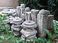 Rotunda Yard Thessaloniki 02 Muslim Tombs remains.JPG