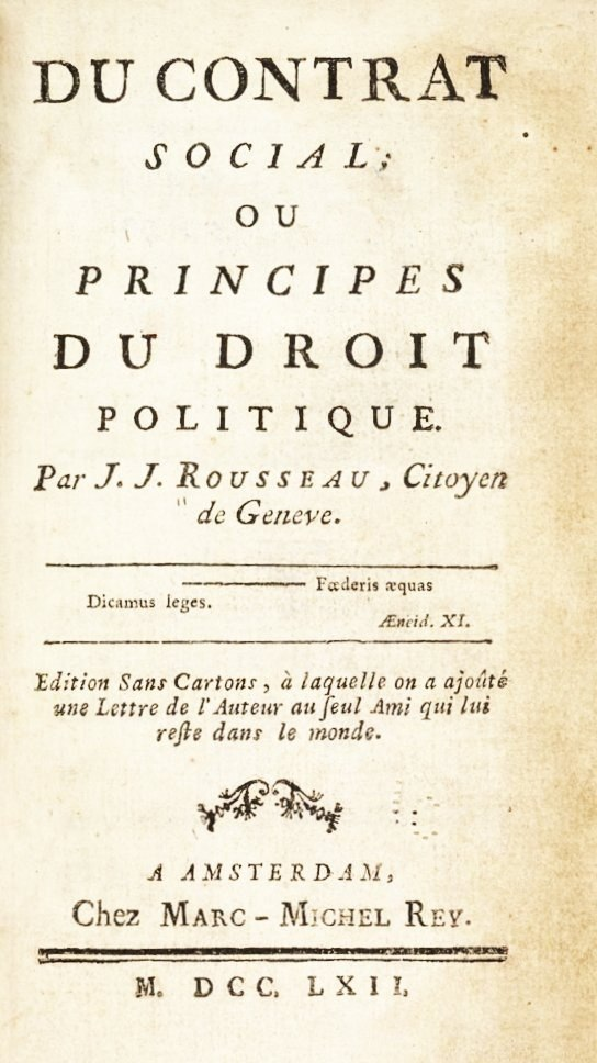 Rousseau pirated edition
