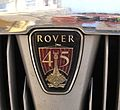 Rover 45 badge.JPG