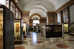 Royal Museum for Central Africa - The interior of the museum, photographed in 2011, shortly before the museum's major renovation
