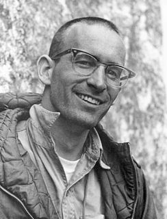 Royal Robbins American rock climber