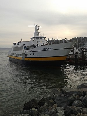 Royal Star ferry at the jetty in Tiburon.jpg