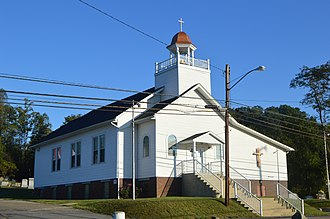 Clay Township, Scioto County, Ohio - Christ's Brethren Church at Rubyville