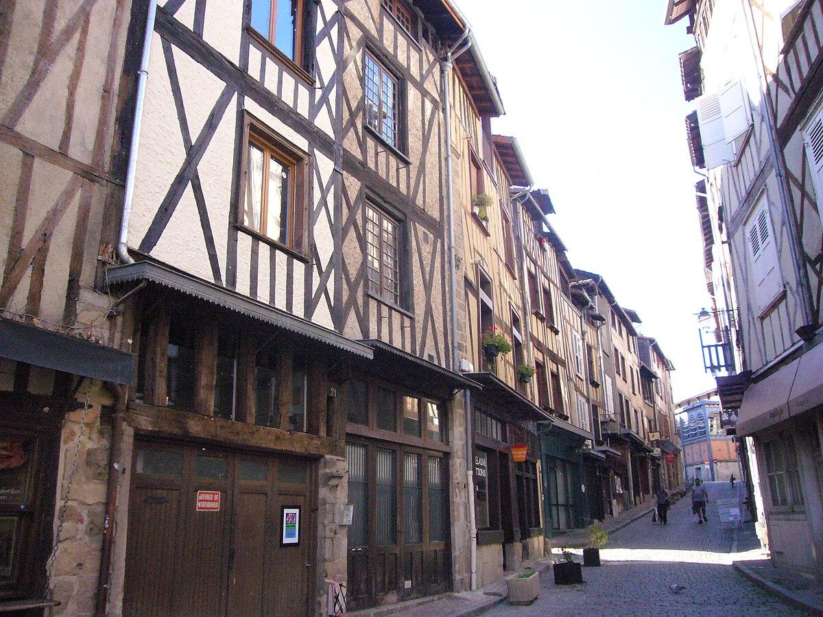 Rue de la boucherie limoges wikip dia for Maison typique du nord de la france
