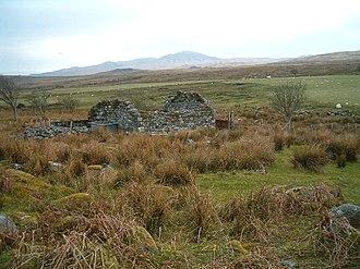 Ardmenish - The ruins of a farmhouse at Ardmenish