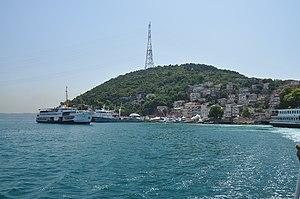 Rumelikavağı - A view of the Rumelikavağı skyline from the Bosphorus